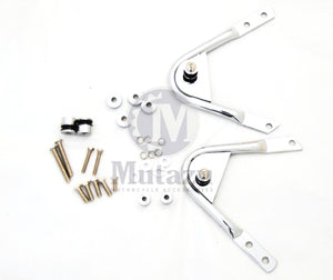 Mutazu Docking Hardware Kit for 97-08 for Detachable Harley Two Up Luggage Rack