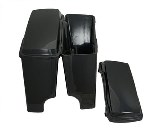 Fat Ass Wide Width Extended Hard Saddlebag Fits Harley HD Touring FHLT FLTRI