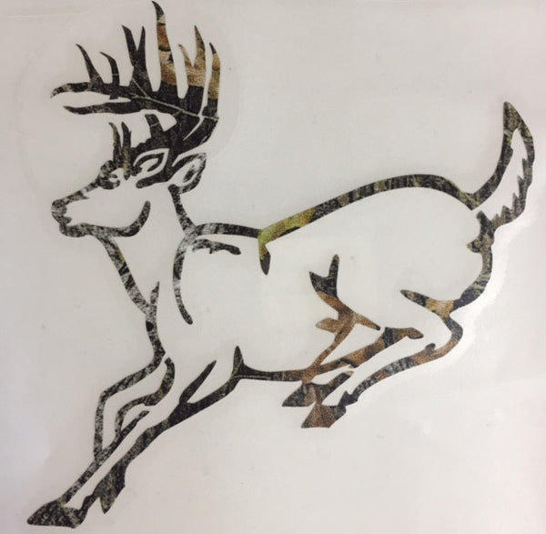 Running Deer Camo Decal - Deer Shack