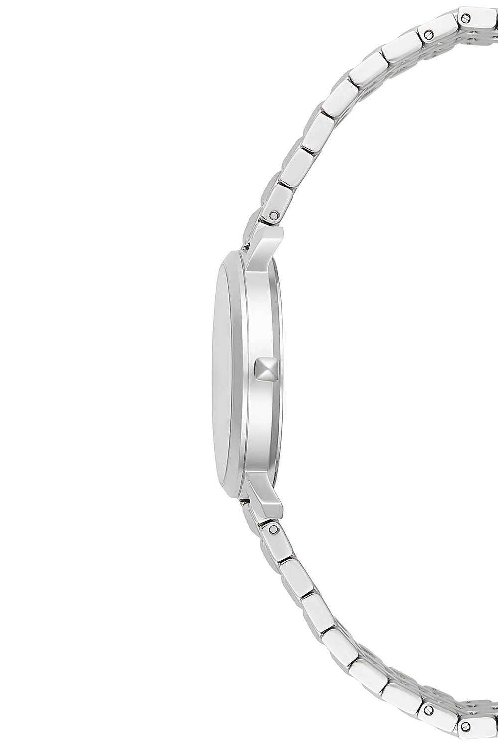Billie Silver Tone Bracelet Watch, 34MM