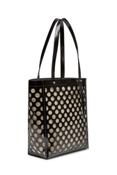 Perforated Stella North South Tote - Hover Image