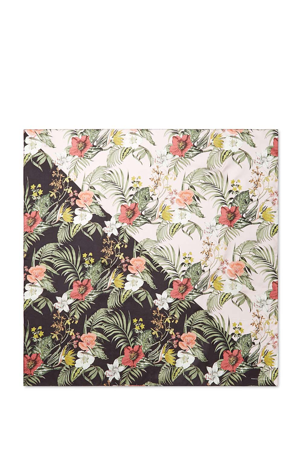 Tropical Splice Silk Square