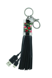 Power Tassel Keychain