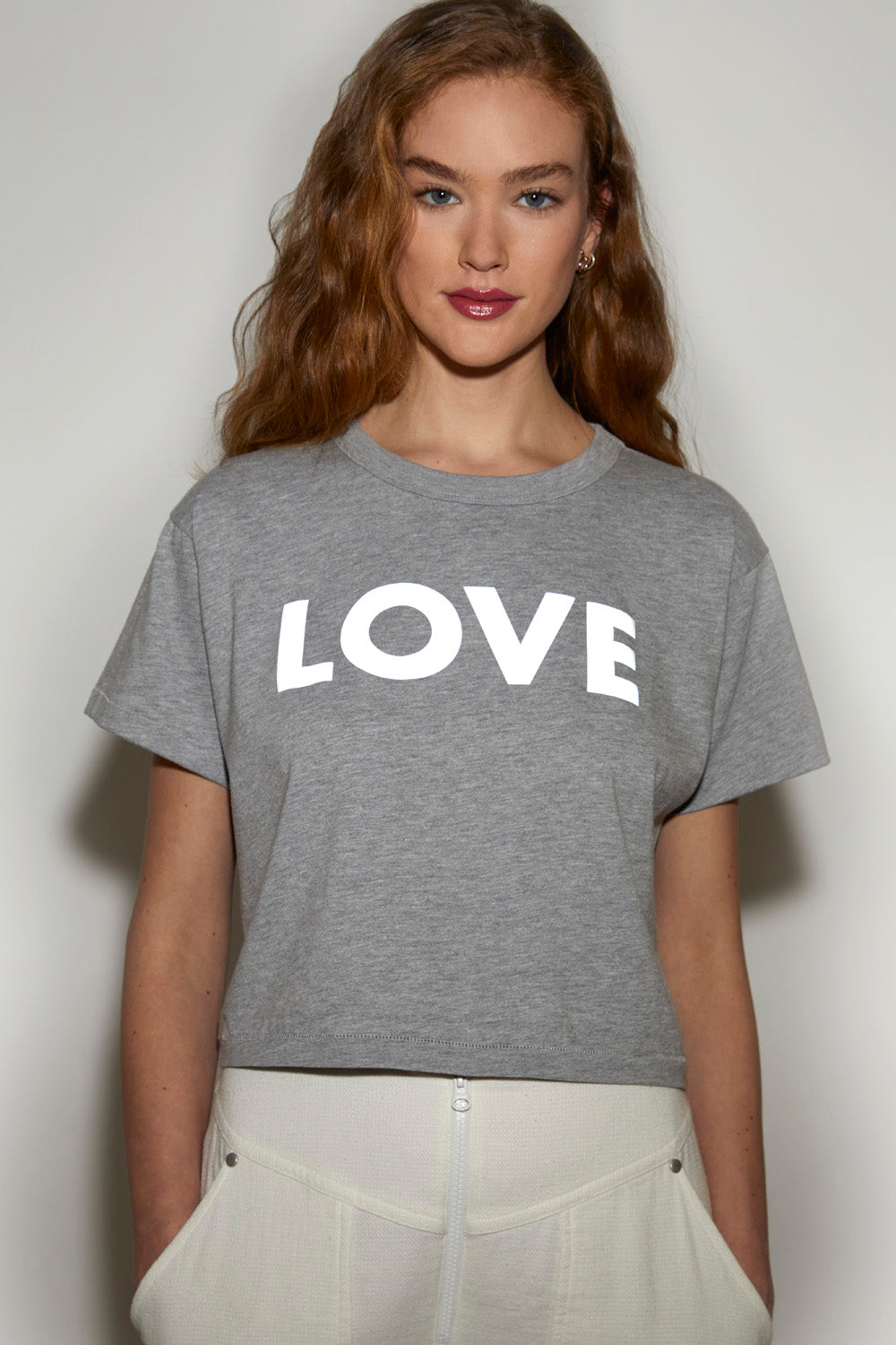 Reflective Love Wesley Crop Tee