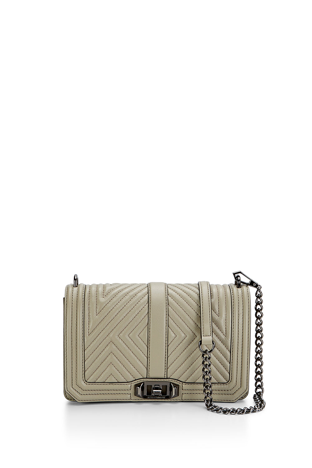 Geo Quilted Love Crossbody