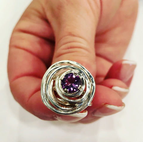 One-of-a-Kind Amethyst Ring