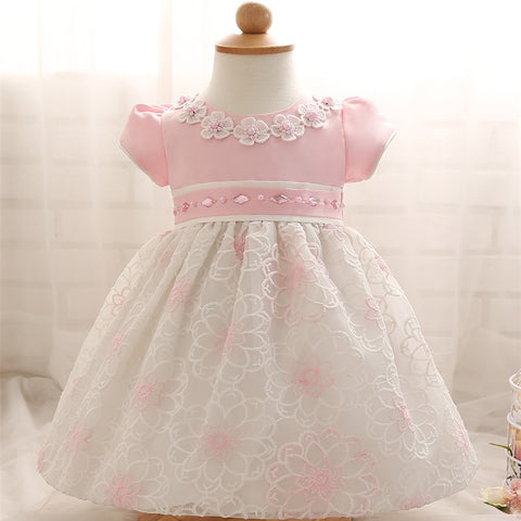 Girl Dress For Christening or other Formal  Party - CheckaBaby