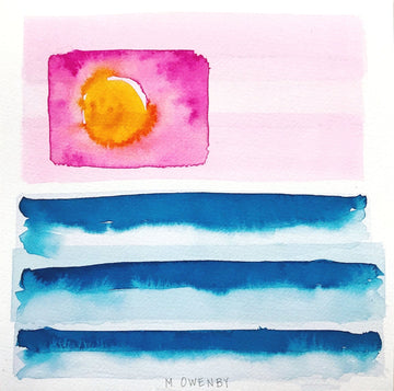 Modern Americana-Watercolor Print - Michelle Owenby Design