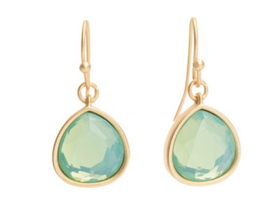 Spartina ~ Bridesmaid earrings blue