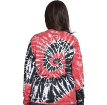 Simply Southern ~ Long sleeve black and red turtle shirt