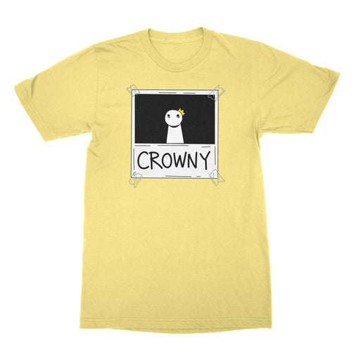 Crowny - Unisex Shirt Banana Cream
