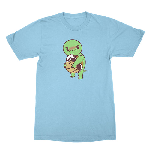 Naked Turtle - Unisex Shirt Light Blue
