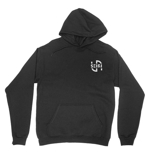 SeigiVA Embroidered Logo Unisex Pullover Hoodie