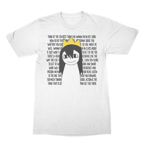 Crown Girl - Unisex Shirt White