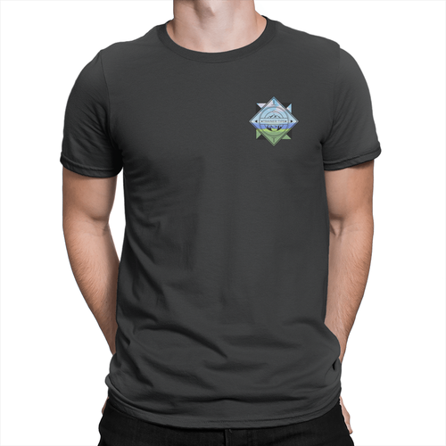 Trainer Tips Color Pocket Logo - Unisex T-Shirt Black