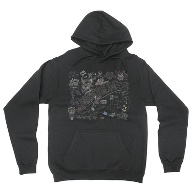 Maximum Colour - Unisex Pullover Hoodie Black