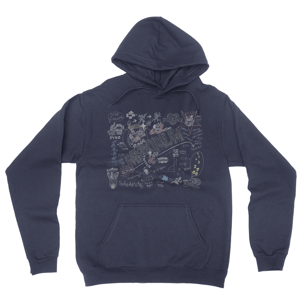 Maximum Colour - Unisex Pullover Hoodie Navy