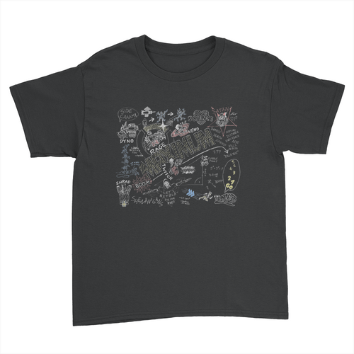 Maximum Colour - Kids Youth T-Shirt Black