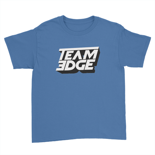 Team Edge - Kids Youth T-Shirt Royal Blue