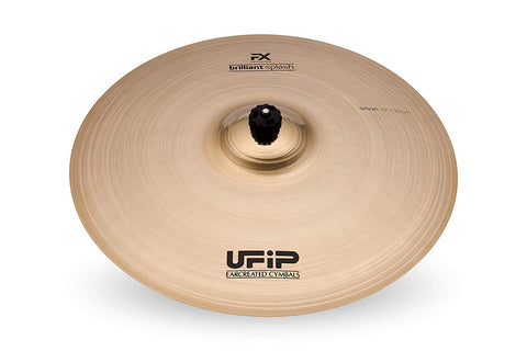 Ufip FX12BS Effects Collection 12 Inch Brilliant Splash Cymbal Alloy B20 Bronze Professional