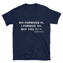 "Load image into Gallery viewer, ""FORGIVE"" White Letter"
