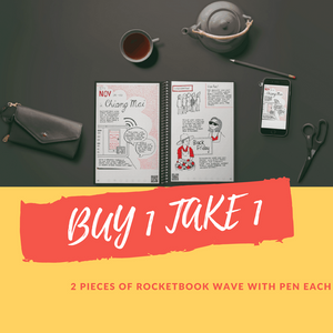 BUY 1 TAKE 1 Rocketbook Wave With FREE Pen each
