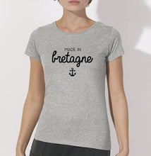 T-shirt Made in bretagne ancre #1