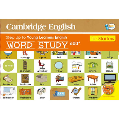 劍橋少兒英語Cambridge English Starters