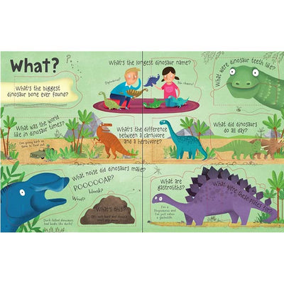 Usborne Life-the-flap Q & A About Dinosaurs