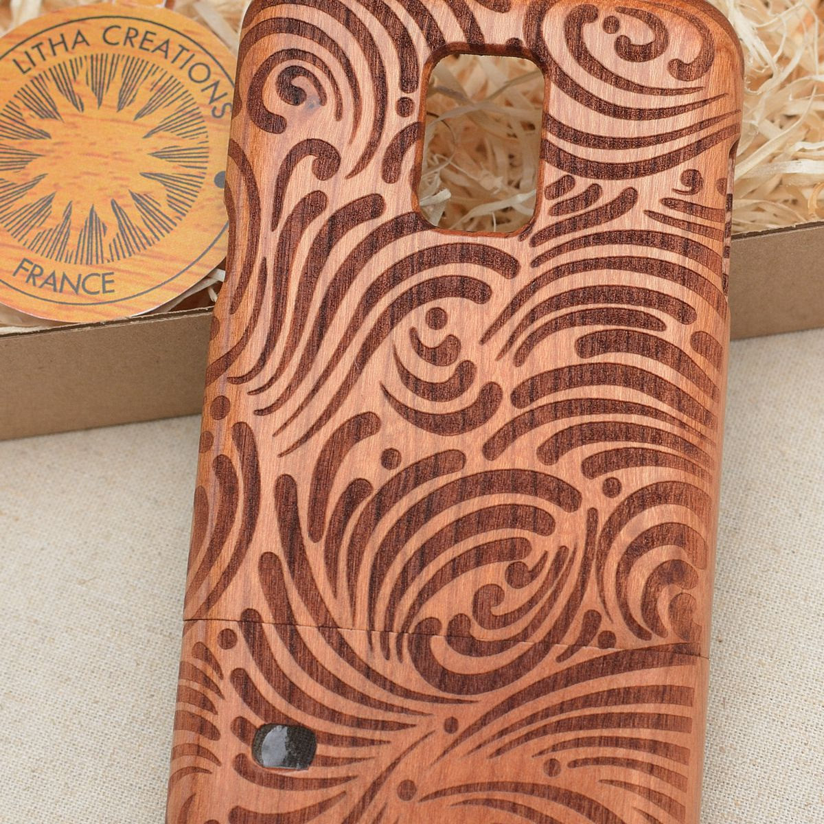 Psychedelic Collection Set of 8 + 2 Wood Phone Cases