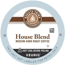 Barista Prima House Blend Coffee K-cup Pods 24ct