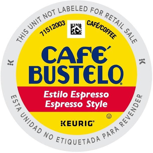 Cafe Bustelo Espresso K-cups 24ct