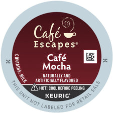 Café Escapes Café Mocha K-Cup Pods 24ct