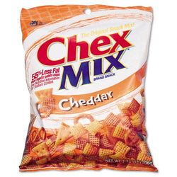 Chex Mix Cheddar Flavor Trail Mix 7 3.75oz Bags