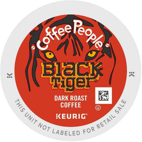 Coffee People Black Tiger K-Cup® Pods 24ct Dark