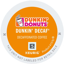 Dunkin' Donuts DECAF Original K-cups 24ct