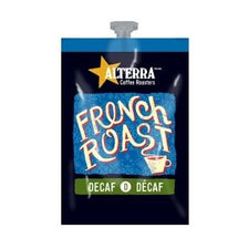 Alterra French Roast Decaf Coffee Fresh Pack Rail 20 Ct