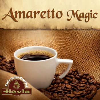 Hevla Amaretto Magic Low Acid Ground Coffee 12oz Bag
