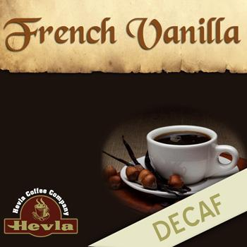 Hevla French Vanilla Decaf Low Acid Ground Coffee 12oz Bag