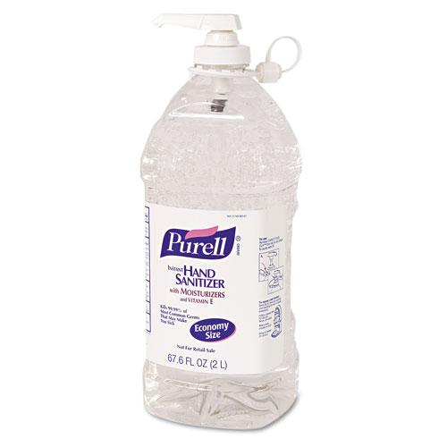 Purell Liquid Instant Hand Sanitizer 2 Liter Pump Bottle