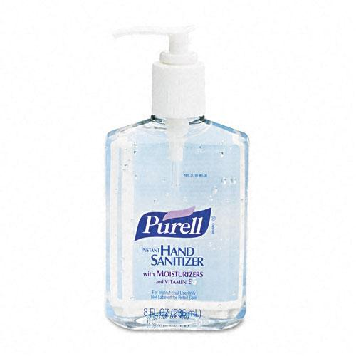 Purell Liquid Instant Hand Sanitizer 8oz Pump Bottle