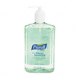Purell Liquid Instant Hand Sanitizer with Aloe 12oz Pump Bottle
