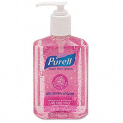 Purell Pink Liquid Spring Bloom Instant Hand Sanitizer 8oz Pump Bottle