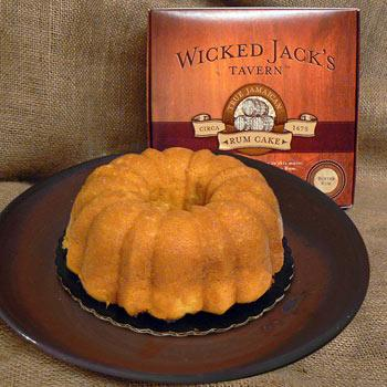 Wicked Jack's Butter Rum Cake 20oz