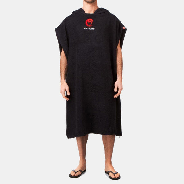 Beach Basha Changing Robe Black