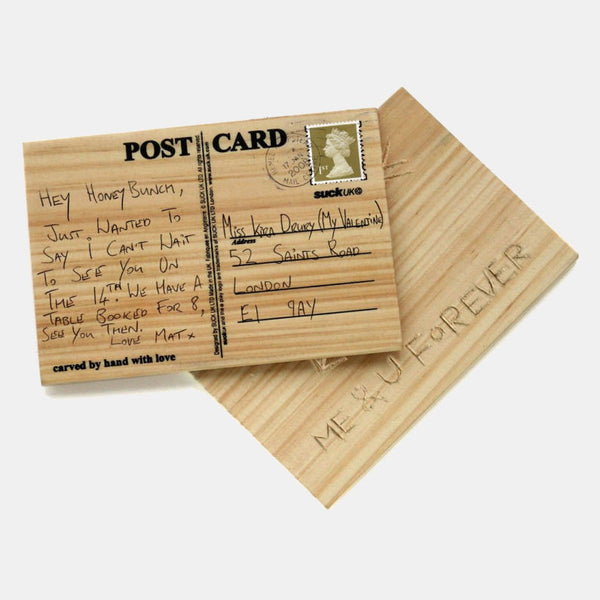 Carve Your Own Postcard