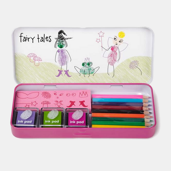 Finger Printing Art Set Fairy