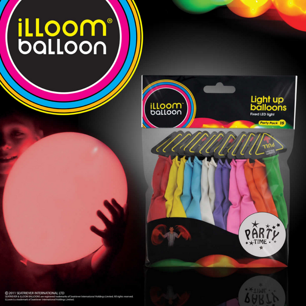illoom Balloon Mixed 15 Pack