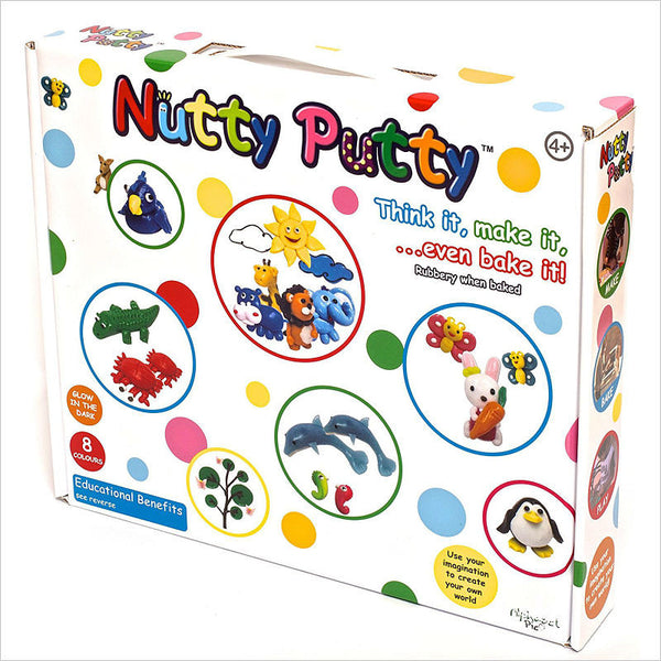 Nutty Putty 8 Colour Set