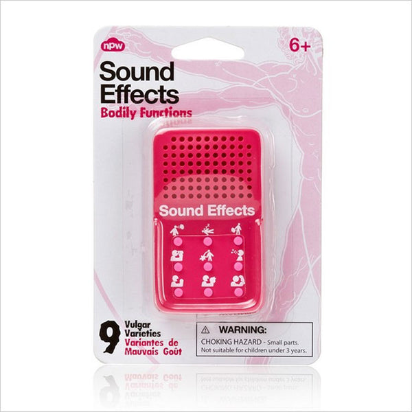 Mini Sound Effects Toy - Bodily Functions